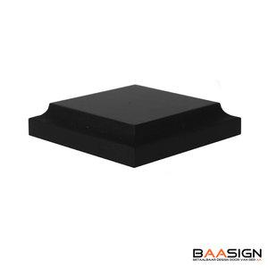 Trofeeplank_Vierkant_18mm_6cm_voorkant_zwart
